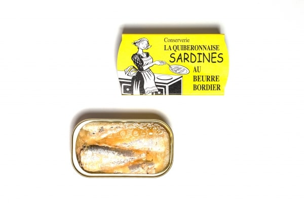 Sardinen au Beurre Bordier